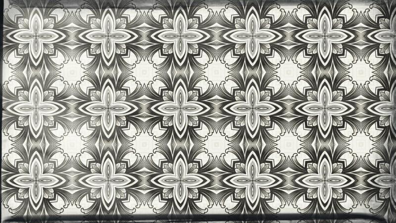 Light Color Vintage Floral Pattern Texture Background Template