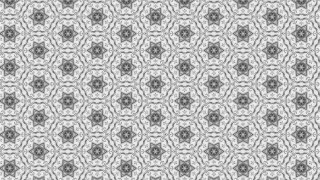 Light Grey Floral Ornament Wallpaper Pattern Image
