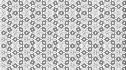 Light Grey Seamless Geometric Ornament Wallpaper Pattern Design Template