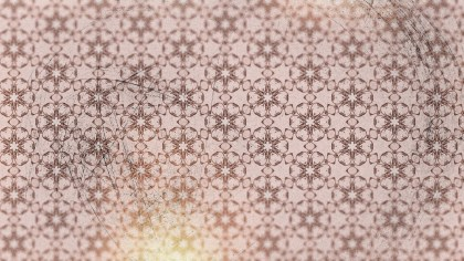Light Red Vintage Seamless Ornamental Pattern Background