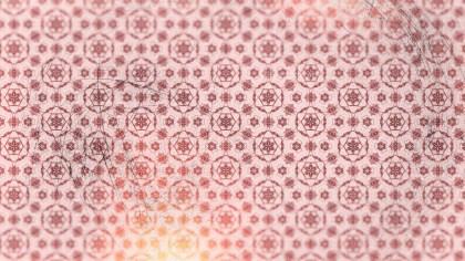 Light Red Vintage Decorative Floral Ornament Background Pattern Design Template