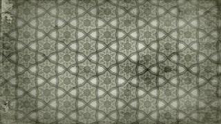 Olive Green Vintage Decorative Floral Seamless Pattern Wallpaper Design