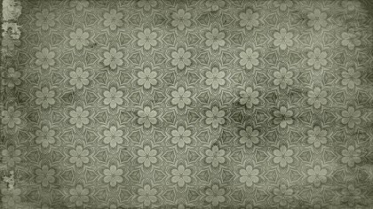 Vintage Floral Ornament Pattern Wallpaper Image