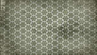 Olive Green Vintage Seamless Ornament Wallpaper Pattern Design Template