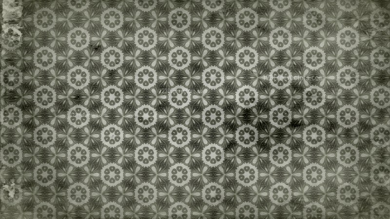 Olive Green Vintage Seamless Wallpaper Pattern Template