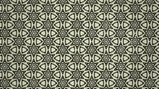 Olive Green Vintage Seamless Floral Background Pattern