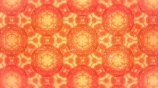 Orange Vintage Ornamental Seamless Pattern Wallpaper Template