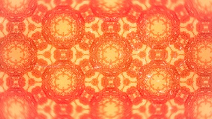 Orange Vintage Ornamental Seamless Pattern Wallpaper Template