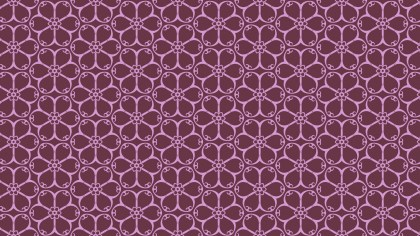 Pink Flower Wallpaper Pattern