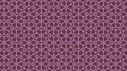 Pink Flower Wallpaper Pattern