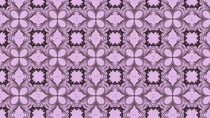 Purple Ornament Wallpaper Pattern Image