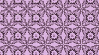 Ornamental Seamless Wallpaper Pattern Design Template