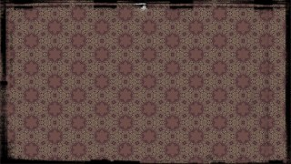 Purple and Beige Vintage Ornamental Pattern Wallpaper