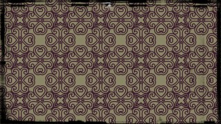 Purple and Beige Ornamental Vintage Background Pattern