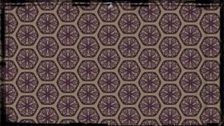 Purple and Beige Vintage Floral Pattern Background
