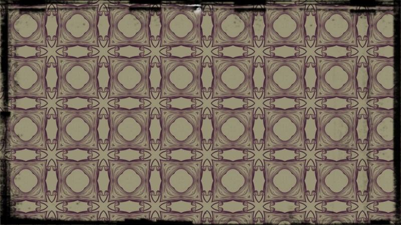 Purple and Beige Vintage Decorative Floral Ornament Background Pattern Design Template
