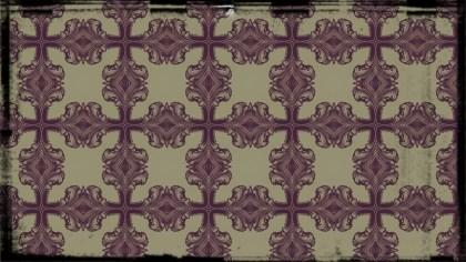 Vintage Decorative Floral Background Pattern