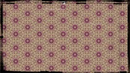 Vintage Decorative Floral Ornament Pattern Wallpaper Template