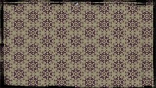 Purple and Beige Vintage Decorative Floral Seamless Pattern Wallpaper Design