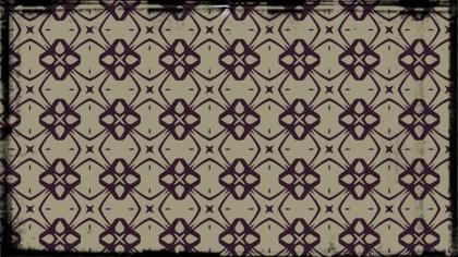 Purple and Beige Vintage Ornamental Pattern Wallpaper