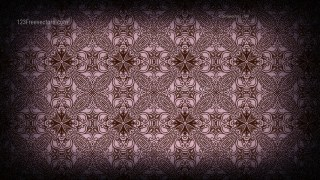 Purple and Black Vintage Seamless Ornamental Pattern Wallpaper