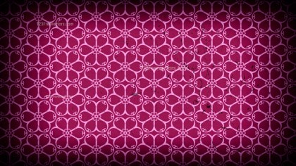 Purple and Black Vintage Decorative Ornament Wallpaper Pattern