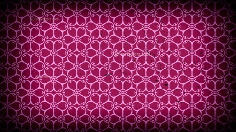 Purple and Black Vintage Decorative Ornament Wallpaper Pattern