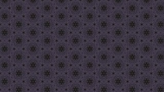 Purple and Black Vintage Floral Ornament Wallpaper Pattern Graphic