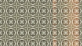 Red and Brown Vintage Seamless Ornamental Pattern Wallpaper