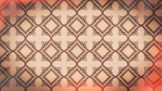 Red and Brown Vintage Decorative Ornament Background Pattern