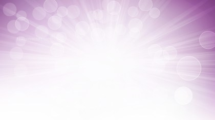 Abstract Purple and White Defocused Lights with Light Rays Background Graphic