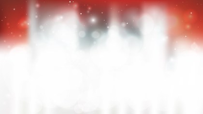 Red and White Blurred Bokeh Defocused Background Vector