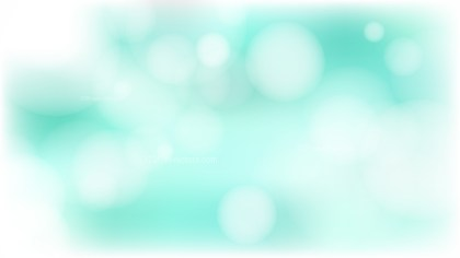 Turquoise and White Defocused Background Vector Art