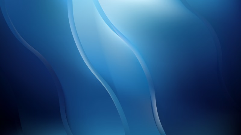 Black and Blue Abstract Wave Background