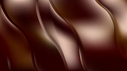 Abstract Black and Brown Wavy Background Illustrator