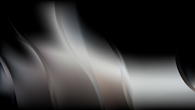 Abstract Black and Grey Wave Background Image