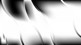 Abstract Black and White Curve Background Image