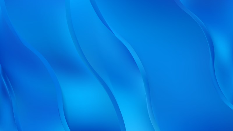 Blue Abstract Curve Background
