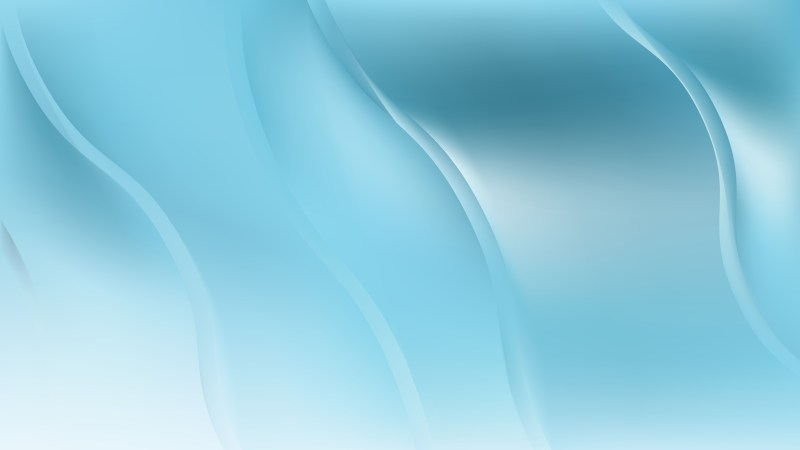 Blue Abstract Wave Background Vector Image