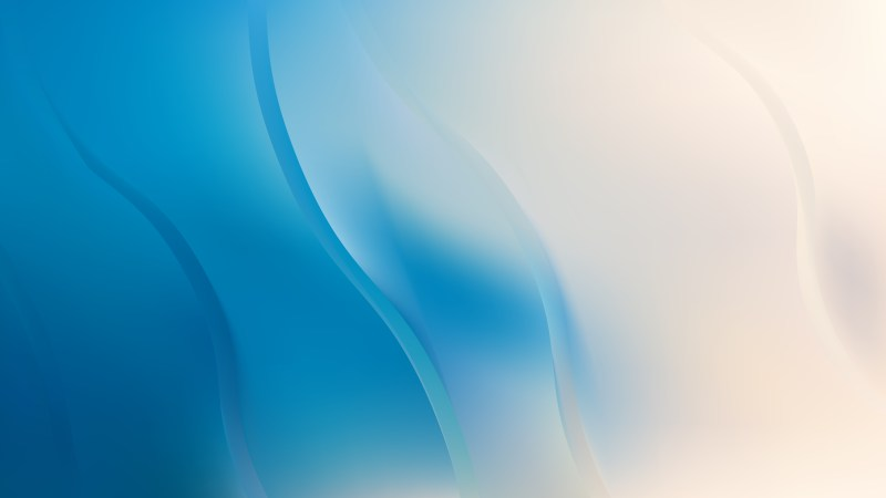 Blue and Beige Abstract Curve Background