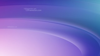 Blue and Purple Abstract Wave Background