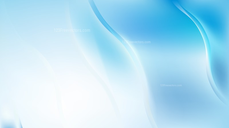 Blue and White Wave Background Illustrator