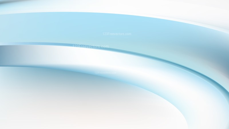 Abstract Blue and White Wavy Background Graphic