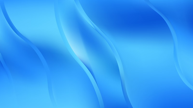 Abstract Bright Blue Wave Background Vector Art