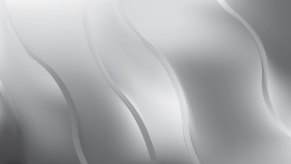 Bright Grey Abstract Wave Background