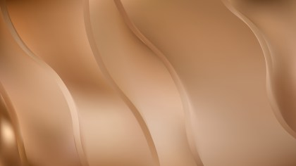 Abstract Brown Wavy Background