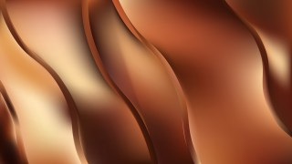 Brown Abstract Curve Background