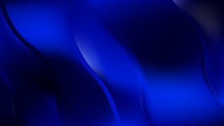 Cool Blue Abstract Wavy Background