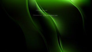 Cool Green Wave Background