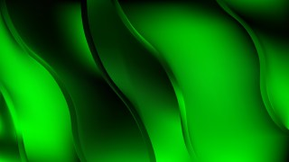 Cool Green Curve Background